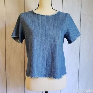 Hippie Laundry Chambray Top